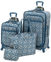 Waverly Boutique 4 Piece Luggage Set