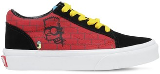Vans Cotton Canvas Lace-up Sneakers