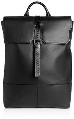 Ted Baker Reel Brogue Leather Backpack