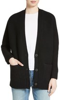 Vince Women's Wool & Cashmere Long V-Neck Cardigan