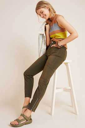 Closed Abby High-Rise Skinny Utility Jeans By in Green Size 25