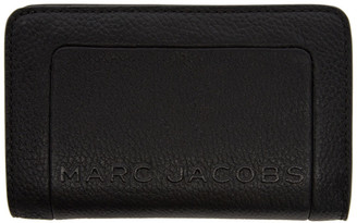 Marc Jacobs Black The Textured Box Compact Wallet