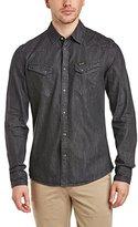 Wrangler Men's City Western Long Sleeve Classic Slim Fit Shirt