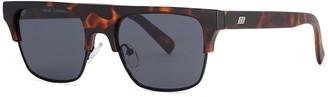 Le Specs Cruel Summer Clubmaster-style Sunglasses