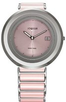 Jowissa Women's J6.006.L Cyclon Pink Ceramic Date Watch