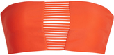 Mikoh Sunset string-back bandeau bikini top