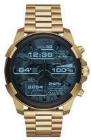 Diesel Goldtone Digital Touchscreen Smartwatch