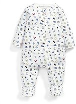 Mamas and Papas Baby Traffic Zip Aio Footies,0-3 Months