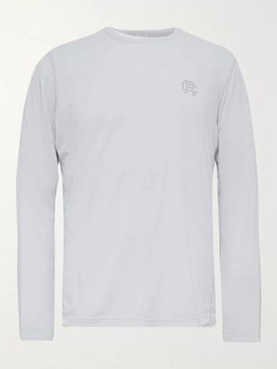 Reigning Champ Logo-Print Deltapeak 90 Stretch-Jersey T-Shirt