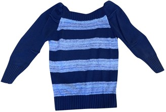 Marc by Marc Jacobs Blue Cotton Knitwear for Women