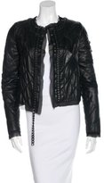 Maison Margiela Quilted Leather Jacket w/ Tags