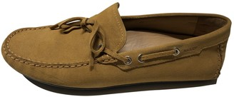 Bally Yellow Suede Flats