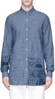 Denham Jeans x Daily Paper African graphic print shirt