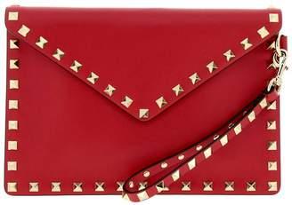 Valentino GARAVANI Mini Bag Garavani Rockstud Clutch Bag In Genuine Leather With Studs