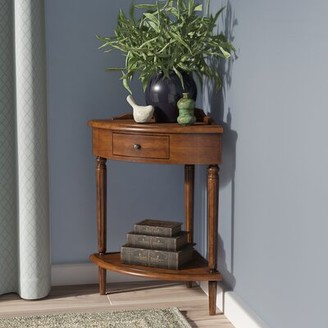 Charlton Home Wilfredo Corner End Table with Storage Charlton Home