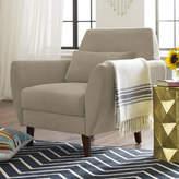 Elle Decor Amelie Mid-Century Modern Armchair