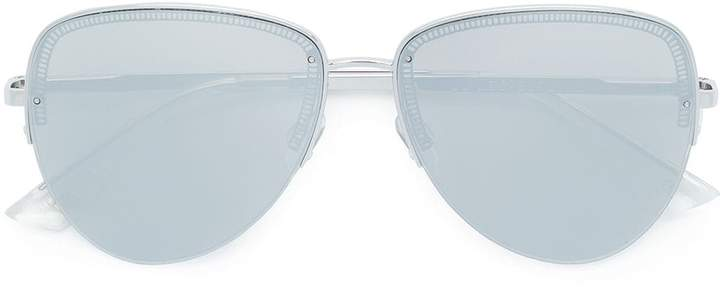 Le Specs oversized aviator sunglasses