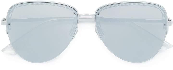 Le Specs oversized aviator sunglasses