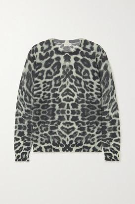 Dries Van Noten Leopard-print Cotton-blend Sweater - Leopard print
