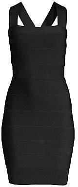 Herve Leger Women's Sleeveless Mini Bodycon Dress