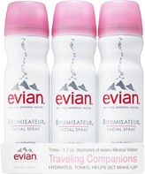 Evian Brumisateur® Natural Mineral Water Facial Spray Travel Trio