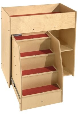 Wood Designs Contender Deluxe Diaper Changing Table