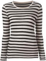 Majestic Filatures striped jumper - women - Cashmere/Merino - 3