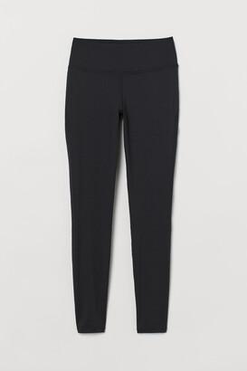 H&M Sports Leggings Shaping Waist - Black