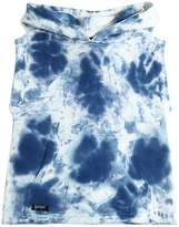 Yporqué Tie Dye Printed Sleeveless Sweatshirt