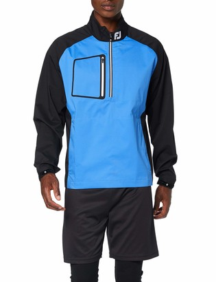 Foot Joy Footjoy Men's Hydrolite Rain Shirt Track Jacket Black (Negro 95028) X-Large