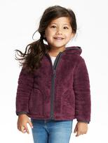 Old Navy Hooded Cozy Full-Zip Jacket for Toddler
