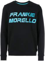 Frankie Morello printed logo sweatshirt