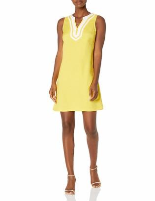 Pappagallo Women's Solid Linen Dress