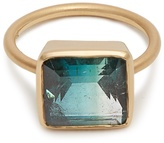 Irene Neuwirth Tourmaline & rose-gold ring