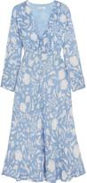 RIXO London - Katie Printed Crepe Midi Dress - small