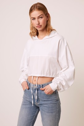 French Connenction Rusha Cropped Hoodie