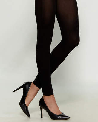 Hanes Curves Blackout Footless Tights