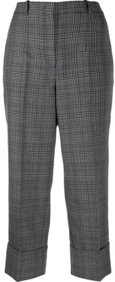 Michael Kors Collection Check Print Trousers