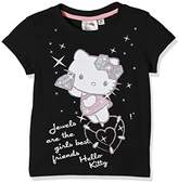 Hello Kitty Girl's Diamonds T-Shirt,(Manufacturer Size:XXX-Large)