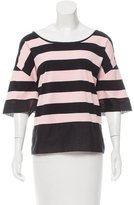 Pinko Striped Oversize Top w/ Tags