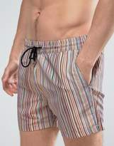 Paul Smith Classic Multi Stripe Swimshorts