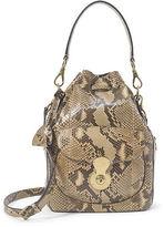 Ralph Lauren Python Ricky Drawstring Bag