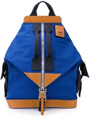 Loewe Colour-Block Convertible Backpack