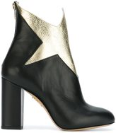 Charlotte Olympia 'Galactica' ankle boots - women - Leather - 38
