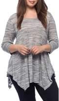 Bobeau Langley Plus Size New Space Dye Sweater.