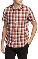 RVCA Deep Plaid Woven Shirt