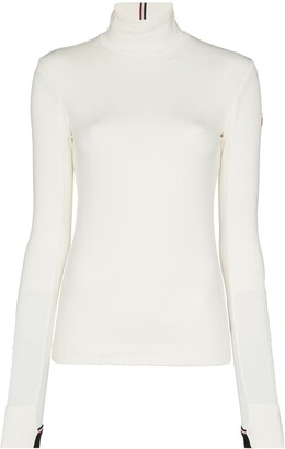 MONCLER GRENOBLE Turtleneck Stretch-Fit Top