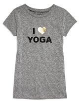 Onzie Girls' I Love Yoga Tee - Big Kid