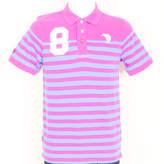 Canterbury of New Zealand Wilson Cut/Sew Polo T Shirt Wild Purple