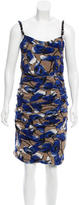 Moschino Cheap & Chic Moschino Cheap and Chic Silk Floral Print Dress